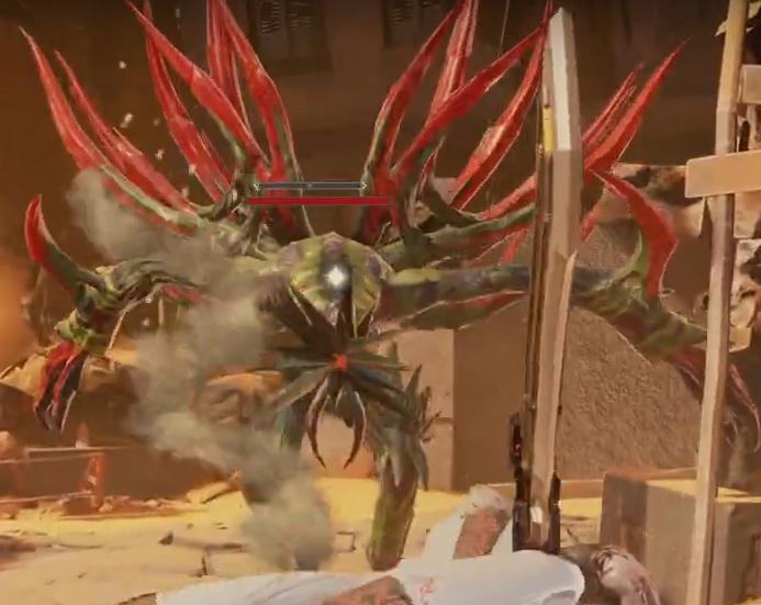 Code Vein ennemi Elite Parched Executioner jeu vidéo